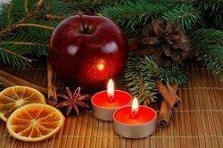 weihnachtliche stimmung nur mit kerzen wird es richtig. Black Bedroom Furniture Sets. Home Design Ideas