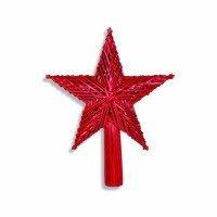 Strohspitze rot in der form eines sterns shop - Stern weihnachtsbaumspitze ...