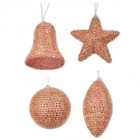 Dekoanhanger Kupfer Glocke Stern Kugel Zapfen Shop Weihnachtskugeln De