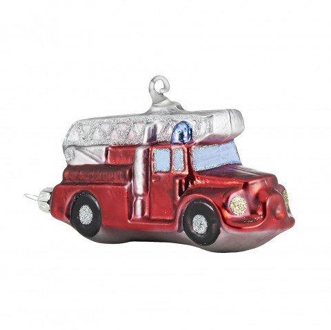 Christbaumschmuck Aus Glas Feuerwehrauto Mit 10cm Shop