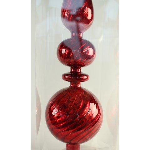 Christbaumspitze Rot Verschnorkelt Shop Weihnachtskugeln De