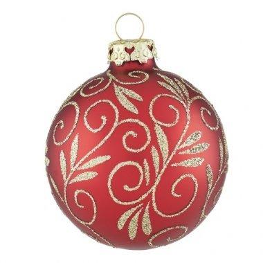 Christbaumkugeln Reflexkugeln.Weihnachtskugeln Mit Muster Und Ornamenten Shop