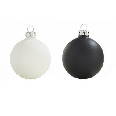 Weihnachtskugeln Weiß.Weihnachtskugeln Weiß Schwarze Christbaumkugeln Shop