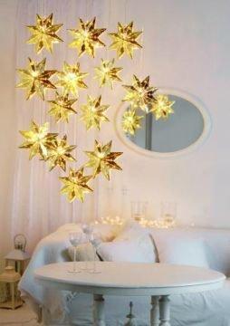 h ngestern in der farbe gold und mit wunderbarem muster shop. Black Bedroom Furniture Sets. Home Design Ideas