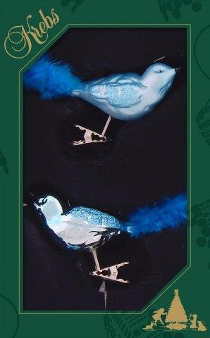 Vogelsortiment aqua 11cm shop - Weihnachtskugeln cappuccino ...