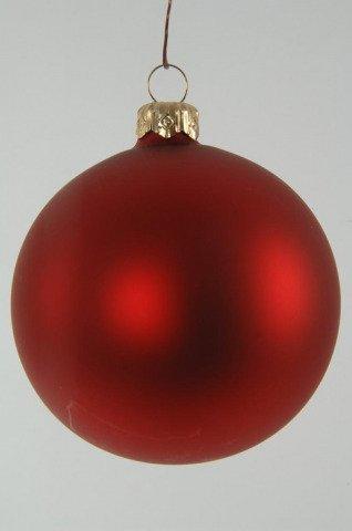 tolle weihnachtskugeln mit eine matt roten oberfl che shop. Black Bedroom Furniture Sets. Home Design Ideas
