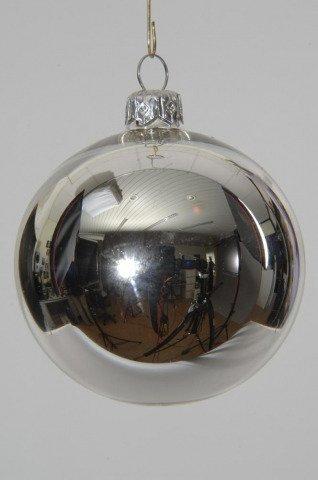 Christbaumkugeln Silber Matt.Christbaumkugeln Silber Glas