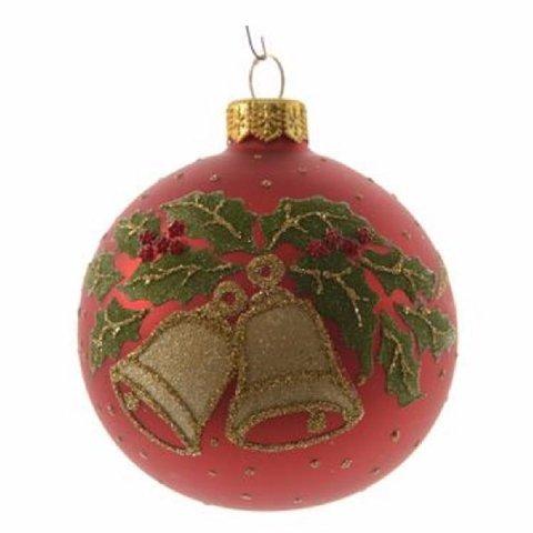 Weihnachtskugel mit glocken shop - Weihnachtskugeln aus glas ...