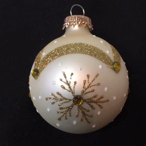 weihnachtskugeln barock gold 8cm 4er set glas shop. Black Bedroom Furniture Sets. Home Design Ideas