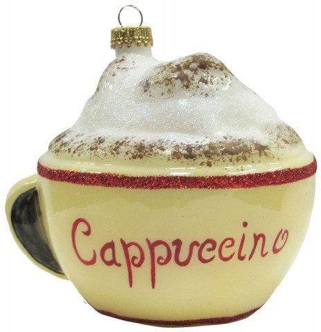 Glas cappuccino shop - Weihnachtskugeln cappuccino ...