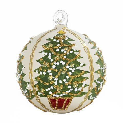 Handbemalte Christbaumkugeln.Handbemalte Weihnachtskugel Mit Muster Variationen
