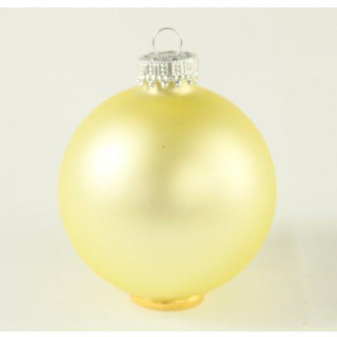 Kugel hellgelb shop - Weihnachtskugeln pastell ...