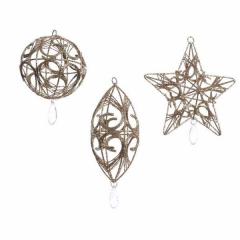 Christbaumkugeln Metall.Christbaumschmuck Aus Metall Und Blech Shop Weihnachtskugeln De