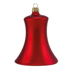 4er Set Weihnachtsglocken Mundgeblasen Rot 5cm Shop