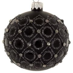 Christbaumkugeln Grau.Weihnachtskugeln Mit Muster Und Ornamenten Shop