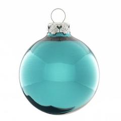 Weihnachtskugel Petrol Christbaumkugeln Blau Shop