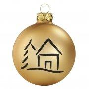 Christbaumkugeln Glas Gold.Weihnachtskugel Gold Goldene Christbaumkugeln Shop
