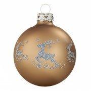 Christbaumkugeln Cappuccino.Weihnachtskugeln Braun Broncefarbene Christbaumkugeln